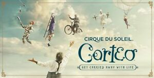 4 adult tickets cirque du soleil Oshawa June 24 1pm