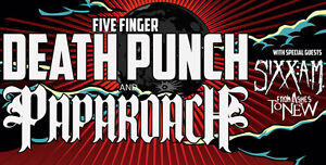 TMRW Night: Five Finger Death Punch, Papa Roach, Sixx: A. M. London Ontario image 1