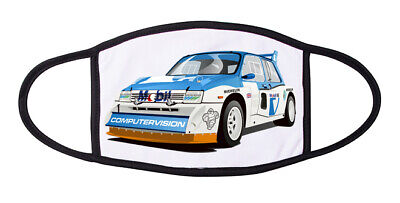 Metro 6R4 Rally Car Face Mask with Filter