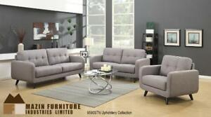 Mid Century Grey Sofa Set - Couches on Sale (BD-2470)
