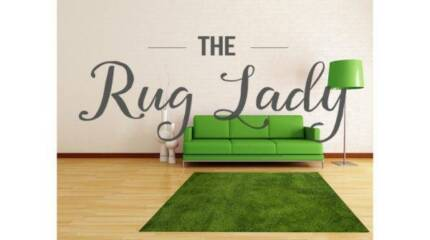 BRAND NEW!!!! Plush Green Floor Rug