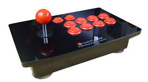 Pro Fighting Stick Arcade Street Fighter IV on PC PS2