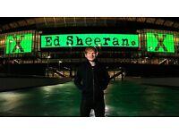 Ed Sheeran Tickets X2 O2 London 2 may 2017