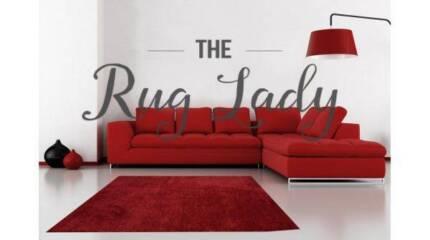 BRAND NEW!!! Red Shaggy Rug 70cm x 130cm