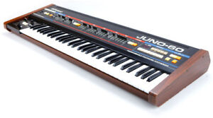 Roland Juno-60 Programmable six-voice polyphonic synthesizer