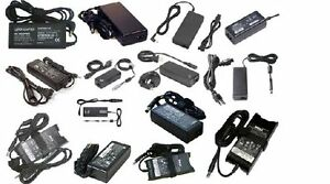 HP, Dell, Toshiba, Lenovo, Acer, Asus & Sony Laptop chargers