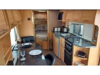 Avondale Argente 642 touring caravan, 2009/10 £8,995 Lshape lounge, fixed double bed