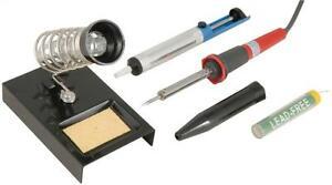 Mercury-749-939-Electrical-DIY-Kit-Solding-Iron-Set-30w-Desoldering-Pump-Stand