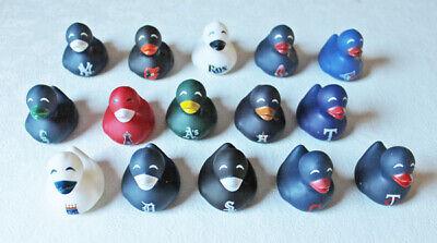 Mlb Circle - MLB Baseball Set of Miniature Rubber Ducks (30 Teams) Free Shipping