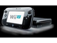 Wii U Premium 32GB Black Console + Nintendo Land