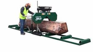 SAWMILL – PORTABLE BAND SAW MILL – MOBILE LUMBER  WILL CUT AUSTRA Hornsby Hornsby Area Preview
