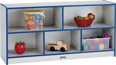 Rainbow Accents Toddler Single Storage Navy Rainbow Accents Single