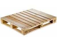 Looking for 3 intact pallets with delivery (will pay)