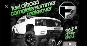 New2You Tire, we do it all... RIMS, TIRES, LIFTS & FUEL GRILLS!!