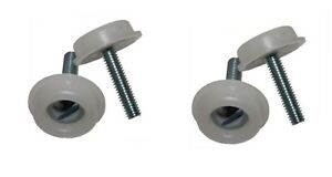 4 x HEADBOARD BOLTS COMPLETE WITH PLASTIC WASHER - HEADBOARD FIXING SCREW PACK