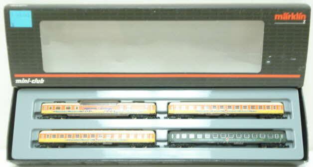 Marklin 87286 Z Apfelfeil Passenger Car Set (Set of 4) NIB