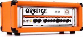 Orange Crush Pro 4x12 Cabinet AND Orange Crush CR120 Amp Head with Orange Dust Cover (Immaculate)
