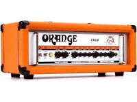 Orange Crush Pro 4x12 Cabinet AND Orange Crush CR120 Amp Head with Orange Dust Cover (Immaculate)
