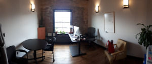 Office Space for Sublease immediately in Downtown Saskatoon