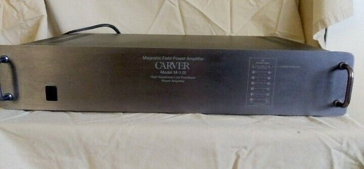 Carver M-1.0t Amp Vintage ONE OWNER with Original Box Works perfectly