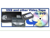 VHS to DVD disc transfer