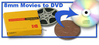 We can convert your family videos and film to digital, DVD, etc