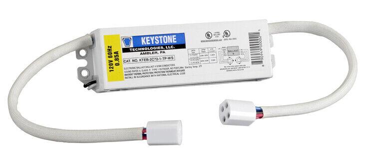 Keystone Ballasts 22 & 32 Watt or 32 & 40 Watt circline, 120V, w/sockets, ELE...