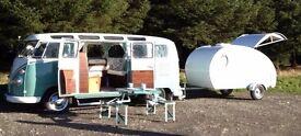 """Teardrop"" Camping Trailer (Sleeps 2) Demo Trailer (Excellent Condition) MUST BE SEEN"