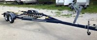 Boat Trailer - Tandem Axle - Front Roller/Rear Bunk - Up to 27'