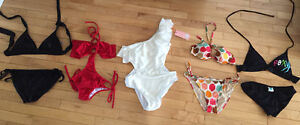 All 5 bathing suits for 20.00
