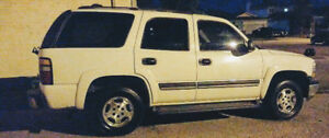 2005 CHEVROLET TAHOE 4x4 = 8 passnagers = MOVING MUST SELL!!!
