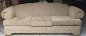 CLEARANCE!!!    BEAUTIFUL 3 SEATER COUCH—ONLY $75