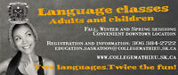 French and Spanish classes – Adults or children