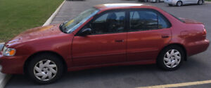 """Toyota Corolla S 2001 Model """"As is"""" for sale"""