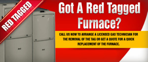 Fix a Red Tag Furnace - Toronto offer