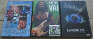 CLASSIC ROCK CONCERT ON DVD'S, Mint (Import)!
