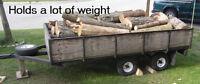 Heavy Duty Tandem Cargo Trailer 6' x 10'