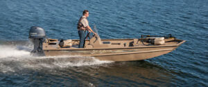 Looking to rent a fishing/hunting boat for a week or so