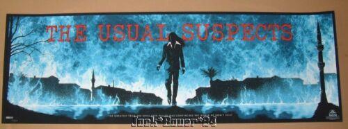 Matt Ferguson The Usual Suspects Movie Poster Print Blue Variant Art - $149.99