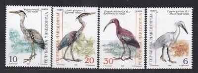 MACEDONIA. 2000/Protected Birds.. 4v/mintNH.