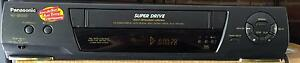 Panasonic Super Drive VHS VCR Player Video Cassette Recorder Stanhope Gardens Blacktown Area Preview