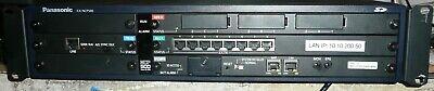 Panasonic Kx-ncp500 Ip Pbx Phone System W Pri23 Opb3 Dlc8 Ipcmpr Modules