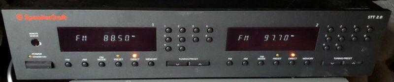 Speakercraft STT 2.0 Digital AM/FM Twin Tuner works perfectly