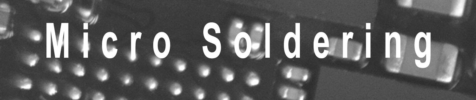 Micro Soldering Parts