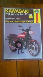 Kawasaki 750 Air-cooled Fours |Manual