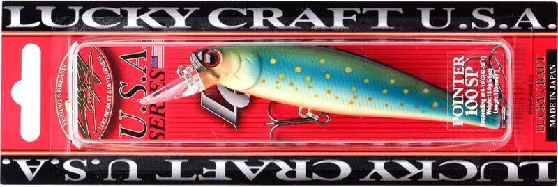 LUCKY CRAFT Bevy Popper 50-814 Brook Trout Kawa Masu