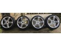 22 Inch Audi Q7, VW Toureg, Porsche Cayenne wheels and tyres
