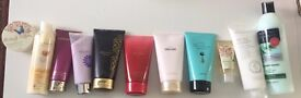 Avon etc Body Lotions, Alberto Balsam Conditioner etc All Unused