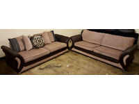 2x4 seater Dfs sofas. Local delivery available