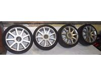 Audi / VW 18'' 5x112 ALLOY WHEELS With Tyres 225/40/18